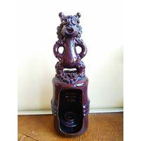 НАХОДКА! подсвечник с чертом, обливная керамика СССР