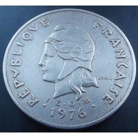 Французская Полинезия. 100 франков 1976