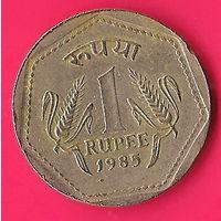 44-07 Индия, 1 рупия 1985 г.