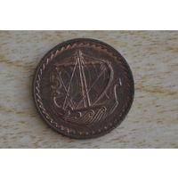 Кипр 5 центов 1971