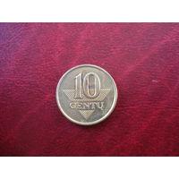10 центов 1997 года Литва