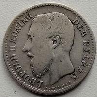Бельгия 1 франк 1887