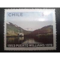 Чили 1979 корабль на реке, одиночка