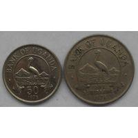 Уганда 1 Шиллинг + 50 Центов (93)
