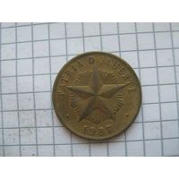 Куба 1 песо 1987г.