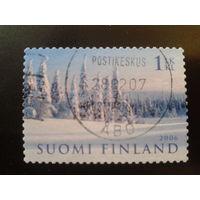 Финляндия 2006 лес