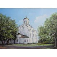 Картина маслом 38     церковь 50х70