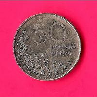 16-36 Финляндия, 50 пенни 1990 г.