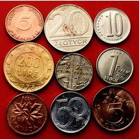 9 монеток - 9 стран. #131 Старт с 10 копеек