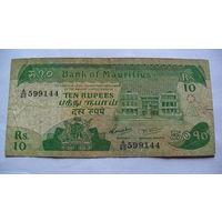 Маврикий 10 рупий 1985г. 599144 распродажа