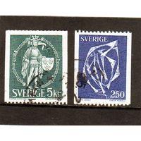 Швеция.Ми-671,1013.Национальная печать 1439-1970. Скульптура-1978.
