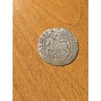 Полугрош 1562 г. Сигизмунд Август.