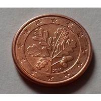 1 евроцент, Германия 2008 J, AU