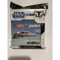 Revell 06726 Snowspeeder, Star Wars. Easykit pocket ,Сноуспидер летательный аппарат повстанцев, Звёздные войны. Миникомплект для лёгкой сборки)