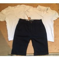 Футболки и шорты для мальчика 8-9 лет