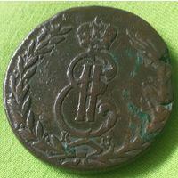 5 копеек 1769 года. К.М.Распродажа.