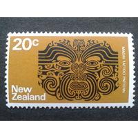 Новая Зеландия 1974 татуировка маори