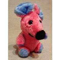 Игрушка Мышка розовая