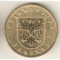 Польша 2 злотый 2004 Силезское воеводство
