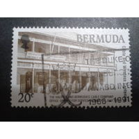 Бермуды 1990 колония Англии здание