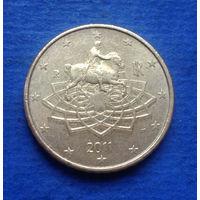 Италия 50 евроцентов 2011