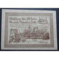 Нотгельд. 20 геллеров #25
