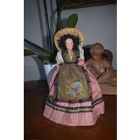 Кукла коллекционная Petitcollin, Франция 1960е, 25 см.