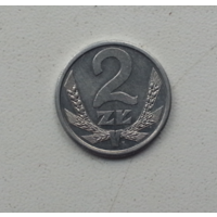 2 злотых 1989 г. Польша