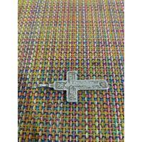 Крестик серебряный 19 век