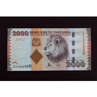 Танзания 2000 шиллингов 2015 UNC