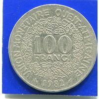 Западная Африка 100 франков 1982