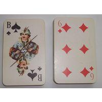 Игральные карты Русский стиль 1995г. КЦП. (малоформатные)