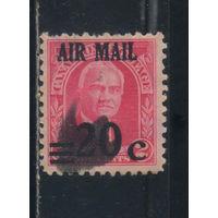 США Зона Панамского канала Авиа 1927 Горгас Надп #83