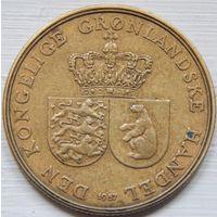 40. Гренландия 1 крона 1957 год. Можно в рассрочку*