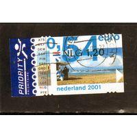 Нидерланды. Ми-1902. Пляж Серия: Введение евро. 2001.