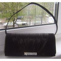 Шикарная вечерняя сумочка-клатч черного цвета. ПРОКАТ