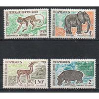 Животные Африки Камерун 1962 год 4 марки