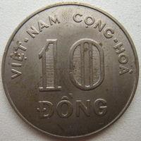 Вьетнам Южный 10 донг 1964 г. Медно-никель (u)