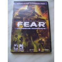 """""""F.E.A.R.: Perseus Mandate"""" DVD"""