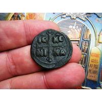РЕДКОСТЬ!  Феодора  11/1 1055 -31/8 1056г. Дочь Константина 8 Фолис единоличного правления как Императрицы Византии.