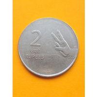 Индия 2 рупии 2010