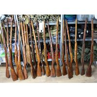 Приклад стационарный для макета винтовки Мосина (дерево, оригинал).