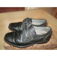 Туфли для мальчика 34 р-р кожа