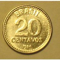 20 сентаво 1986 Бразилия