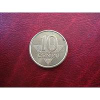 10 центов 2008 года Литва