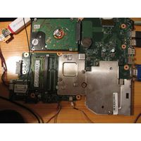 Материнская плата Toshiba C50-A + процессор N2820
