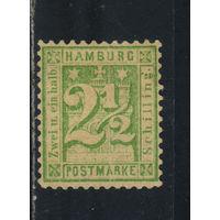 Гамбург Германия 1864-7 Стандарт #14* подделка