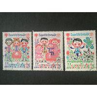 Международный год ребёнка. Венгрия,1979, серия 3 марки
