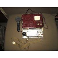 Полевой военный телефон ТА-57 с телеграфным ключом Морзе.СА СССР