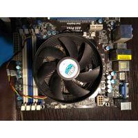 Материнская плата ASRock A55 Pro3 Dual Graphics  Процессор AMD Athlon II/частота 3 ГГц